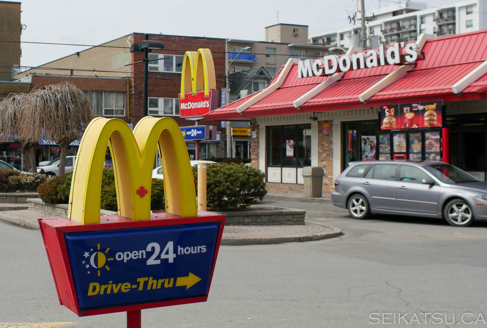 McDonald's Outside