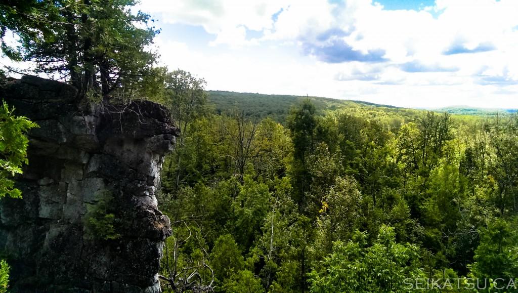 アウトドア・ロッククライミングに挑戦!カナダの大自然を楽しもう!
