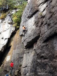 Devil's Glen Climbing