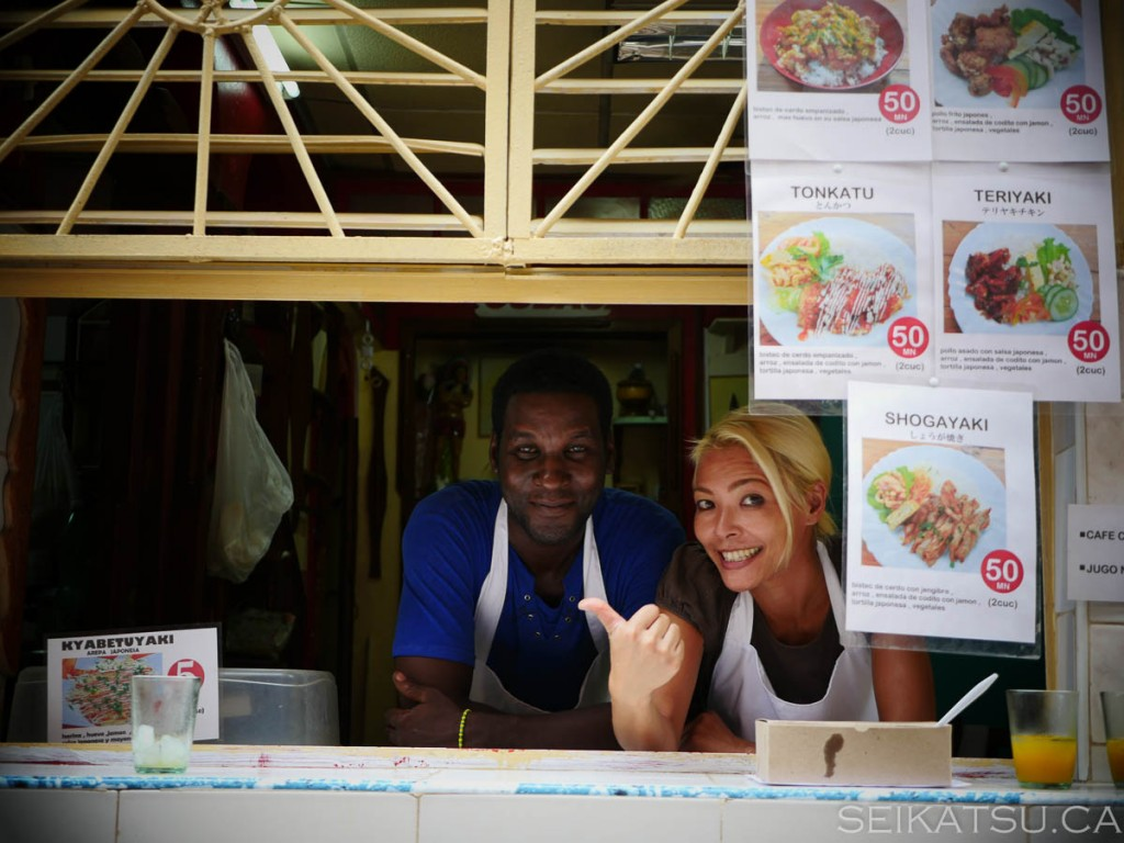ハバナ唯一の日本食レストランが開店―あなたも彼らの力になれる!