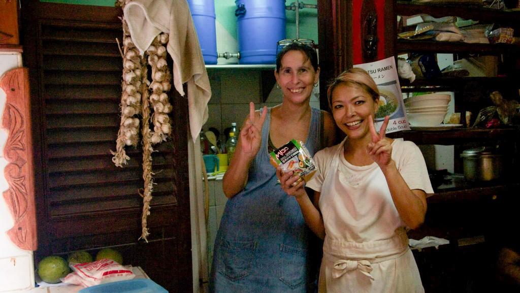 キューバへ日本食材の配達、成功!