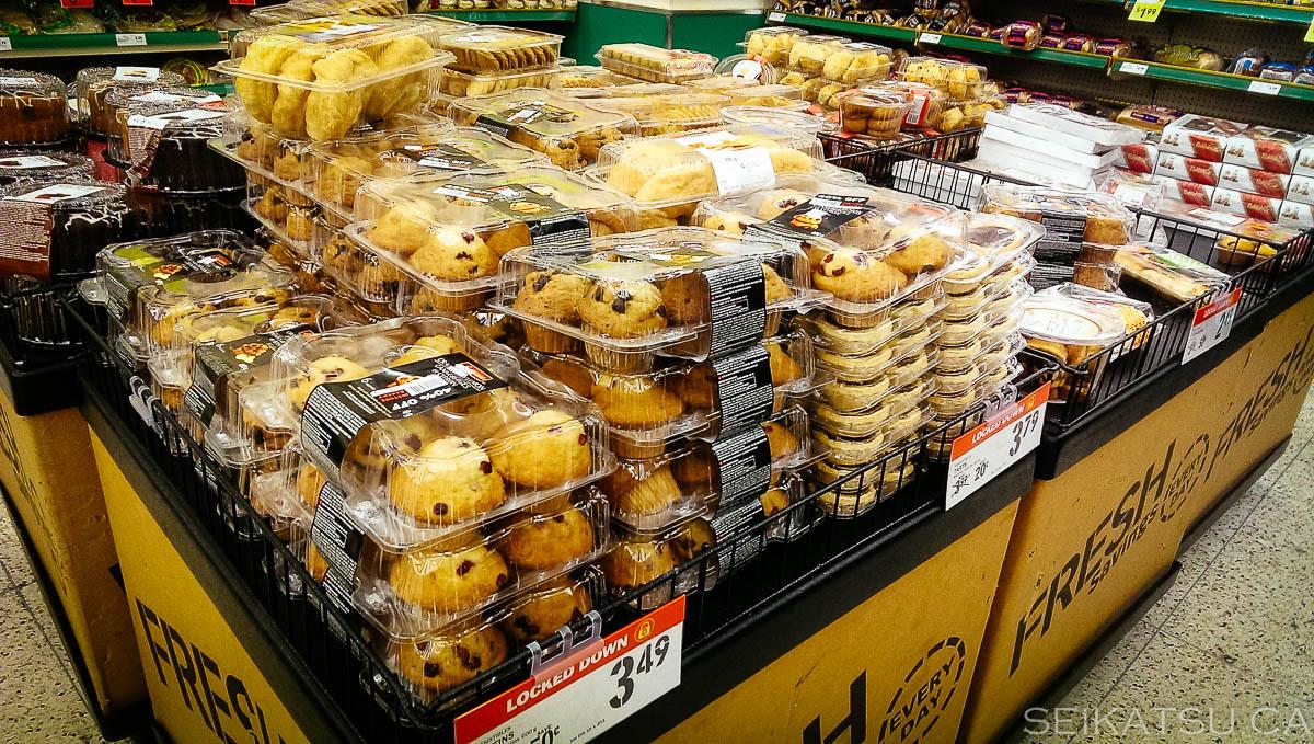 Supermarket Impulse Buys At Entrance