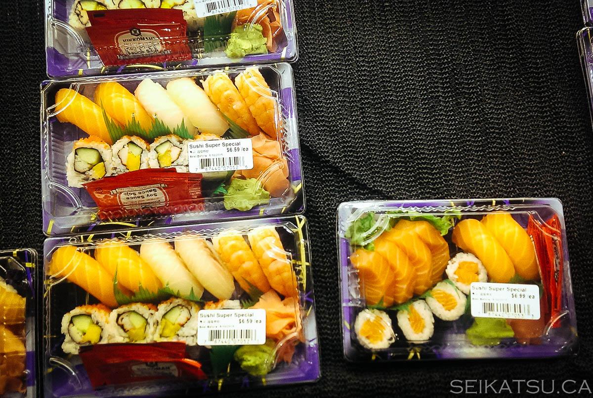 supermarket sushi